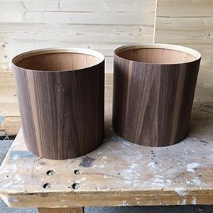 Neue Holztrommeln für die Tambourengruppe