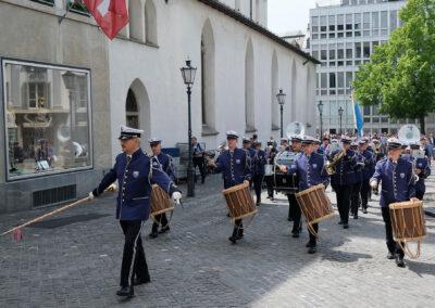 Grosse Vereidigungsfeier bei der  Stadtpolizei Zürich