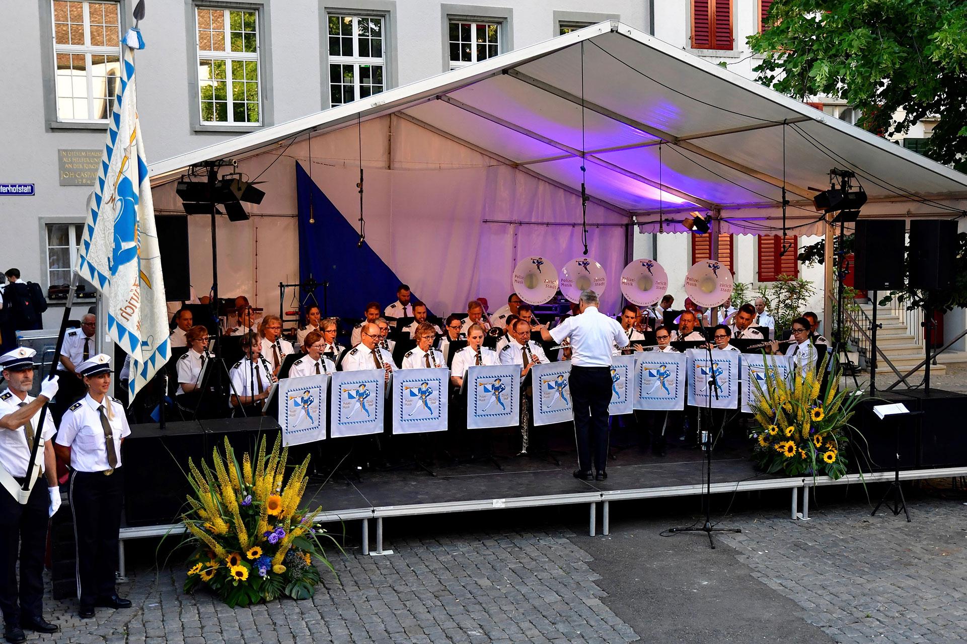 Züri Fäscht 2019 – Abendkonzert auf dem «Platz der Blasmusik»