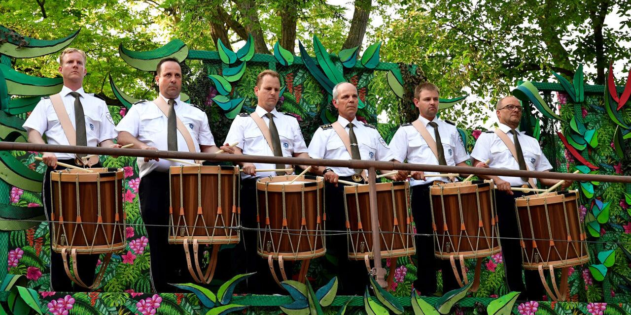 Die Polizeimusik  konzertiert für einen guten Zweck