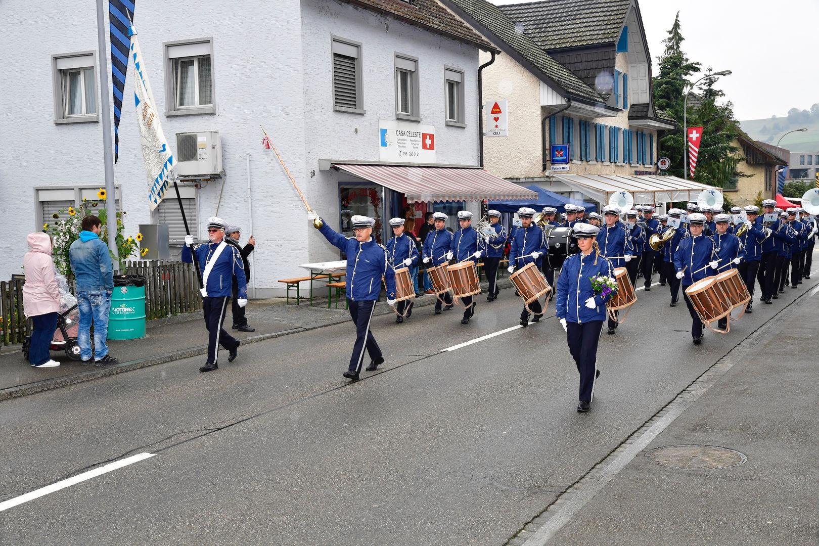 Jubiläumsumzug 100 Jahre Feuerwehr SRZ